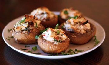 Delicious Stuffed Mushrooms with Ricotta