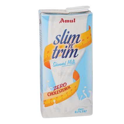 Slim N Trim Skimmed Milk - Amul
