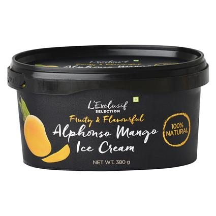 Alphonso Mango Ice Cream - L'exclusif