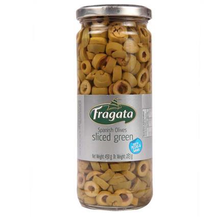 Sliced Green Olives - Fragata