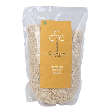 Sikander Brown Rice  -  Organic - Conscious Food