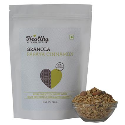 Papaya Cinnamon Granola - Healthy Alternatives
