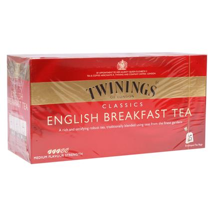 English Breakfast Tea  -  25 TB - Twinings