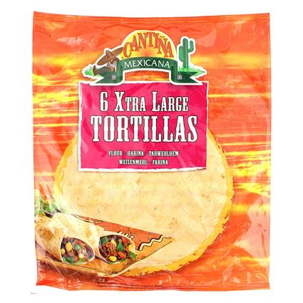 Flour Tortillas 10 XL - Cantina