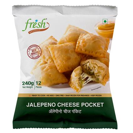 FRISH JALAPENO CHEESE POCKET 240G