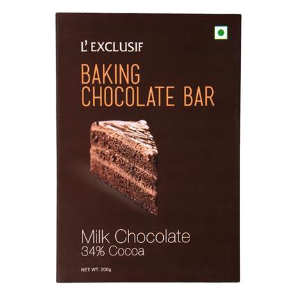 Milk Chocolate Baking Bar - L'exclusif