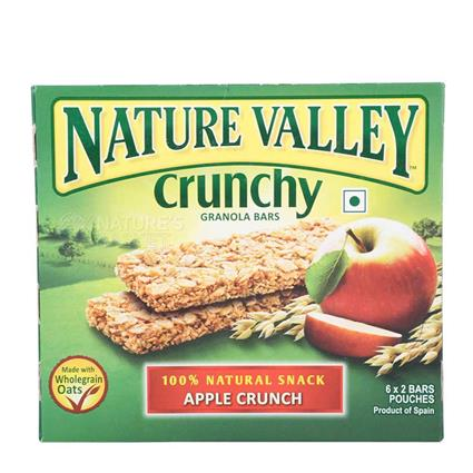 Crunchy Granola Bars  -  Apple Crunch - Nature Valley
