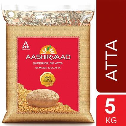 AASHIRVAAD ATTA WHOLE WHEAT 5Kg
