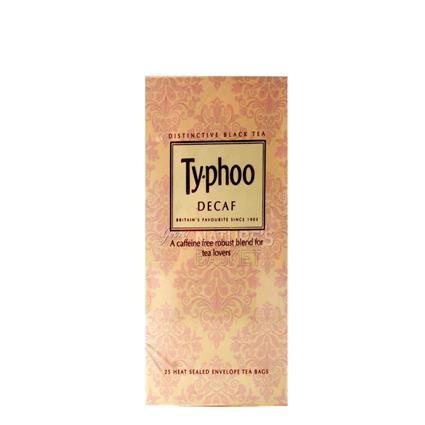 Black Tea Caffeine Free - Typhoo