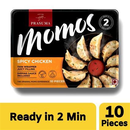PRASUMA MOMOS SPICY CHK 10 PC