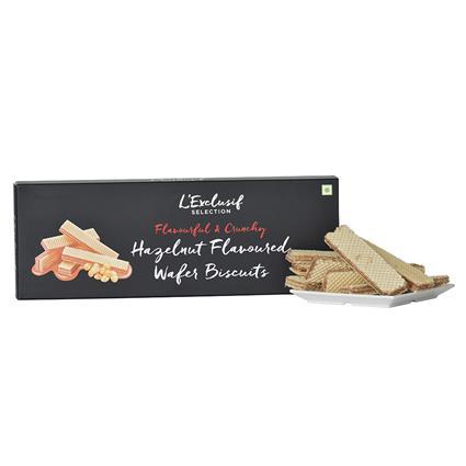 Hazelnut Wafer Biscuit - L'exclusif