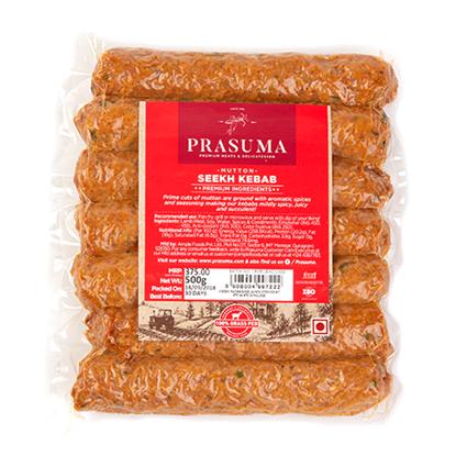 Mutton Seekh Kebab 500Gms - PRASUMA