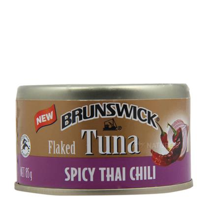 BW TUNA FLAKED WIH SPICY THAI CHILLI 85G