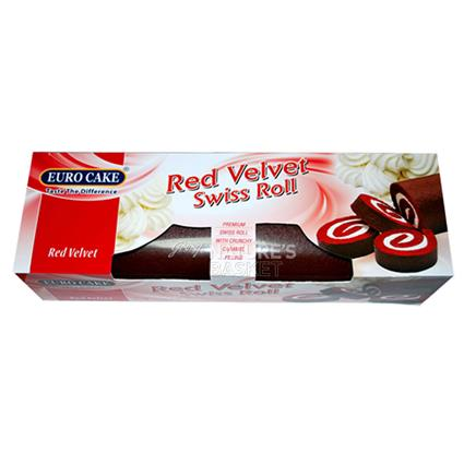 Red Velvet Swiss Roll - Euro Ake