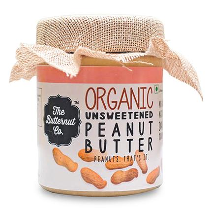 Organic Unsweetened Peanut Butter - The Butternut Co.