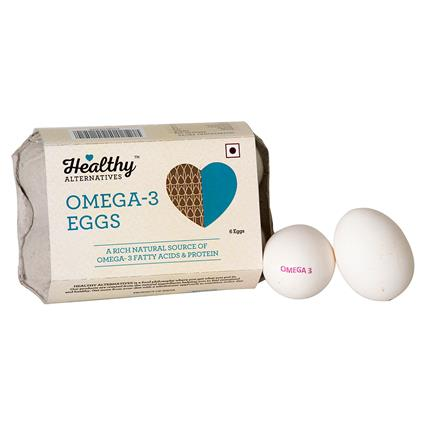 Omega-3 Eggs (6Piece)  - Healthy Alternatives