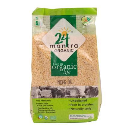 Moong Dal - 24 Mantra Organic