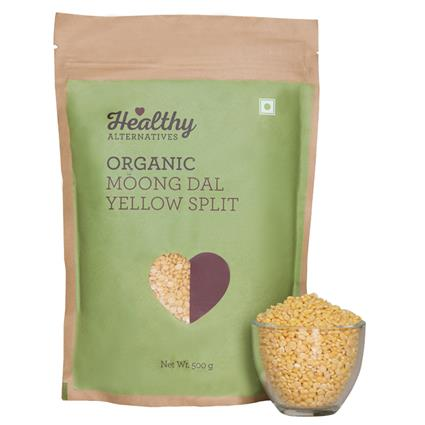 HA ORGANIC MOONG DAL YELLOW SPLIT 500G