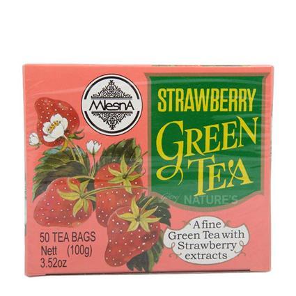 Strawberry Green Tea  -  50 TB - Mlesna