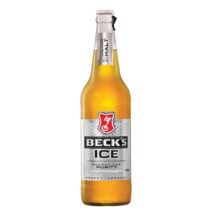 BECKS ICE STRONG BEER 650ML