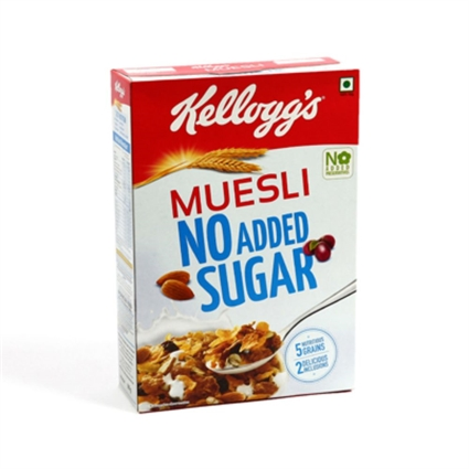 KELLOGGS MUESLI NO ADDED SUGAR 500G