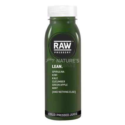 Cold Pressed Juice Lean - Raw Pressery