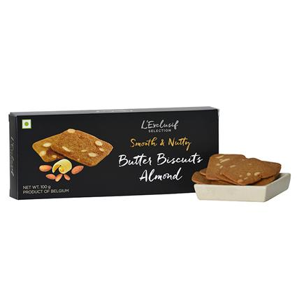 Almonds Biscuit - L'exclusif