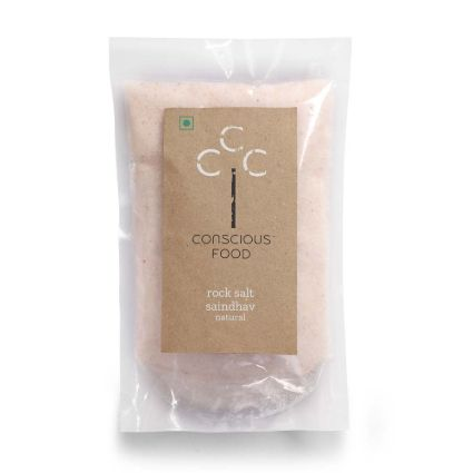 CONSCIOUS FOOD ROCK SALT 500G