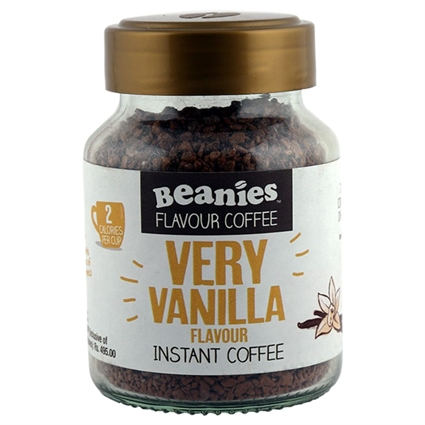 BEANIES VERY VANILLA INSTANT COFFEE 50G