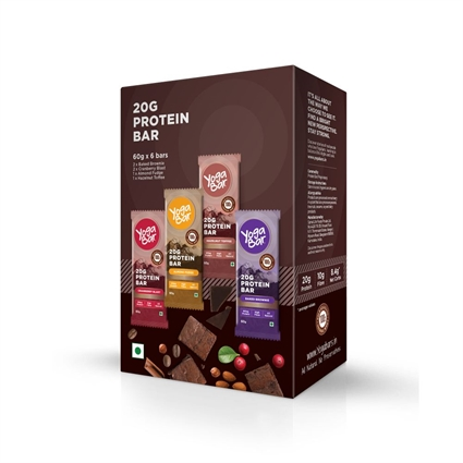 YOGA BAR PROTEIN  VARIETY PACK OF 6