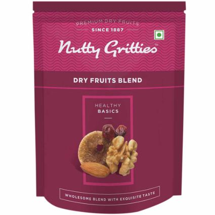 NUTTY GRITTIES DRY FRUIT BLEND 223G