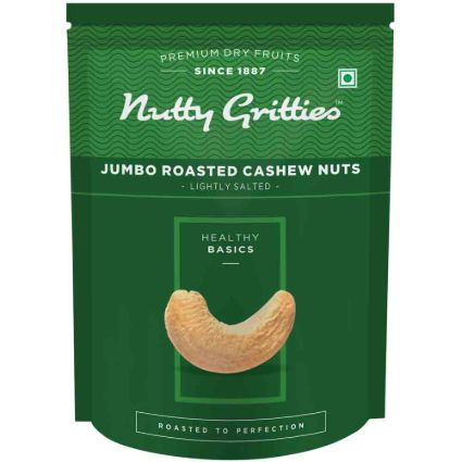 NUTTY GRITTIES SALTED CASHEW NUTS 194GM