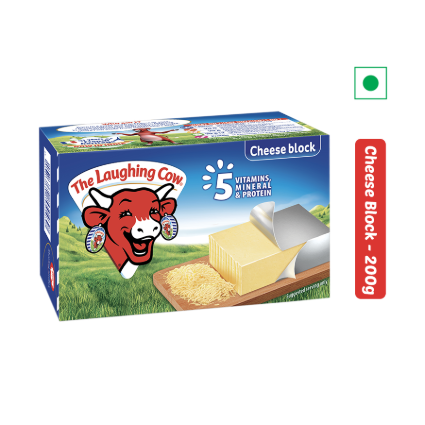 THE LAUGHING COW CHEESE BLOCK 200G