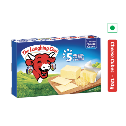 THE LAUGHING COW CHEESE CUBES 120G