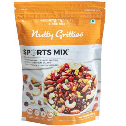 NUTTY GRITTIES SPORTS MIX 350G