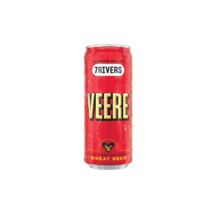 7 RIVERS VEERE WHEAT BEER CAN P