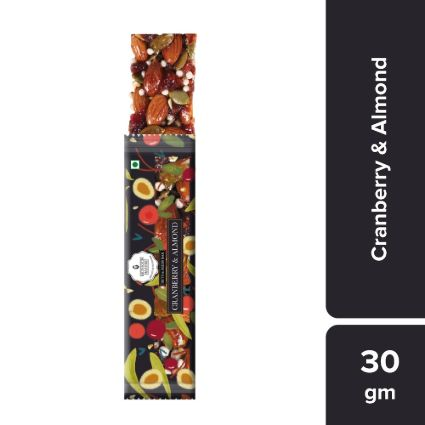 MONSOON HRVST CRANBERRY ALMOND 30G