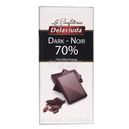 Dark Noir Chocolate - Delaviuda
