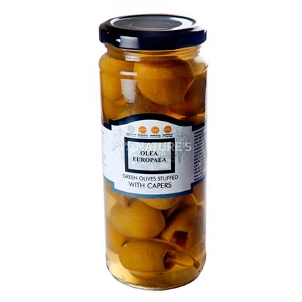 Hand Stuffed Olives With Capers - Olea Europaea