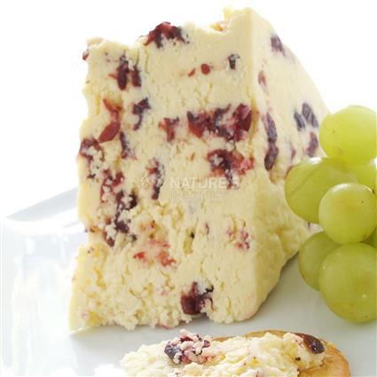 Wensleydale Cheese W/ Cranberries - Ford Farm