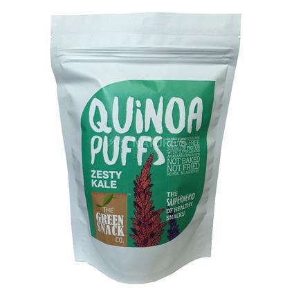 Quinoa Puffs Zesty Kale  - The Green Snack Co
