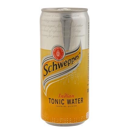 Tonic Water Sleek Can - Schweppes