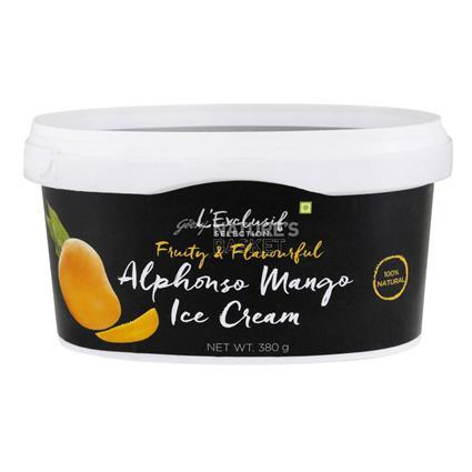Alphonso Mango Ice Cream - L'exclusif