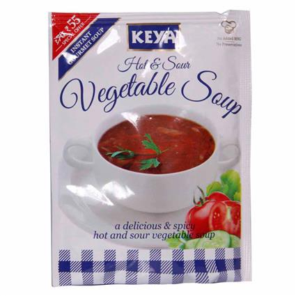 Instant Soup - Hot & Sour Vegetable - Keya