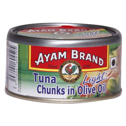 Tuna Chunks In Olive Oil Light - Ayam