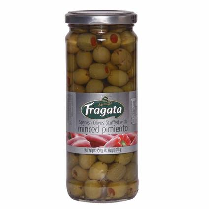 FRAGATA PIMIENTO STUFFED OLIVES 450G