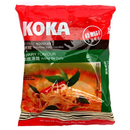 Instant Noodles  -  Curry - Koka