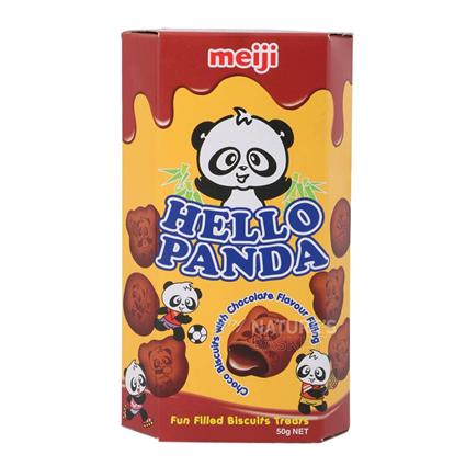 Choco Biscuit W/ Chocolate Filling - Hello Panda
