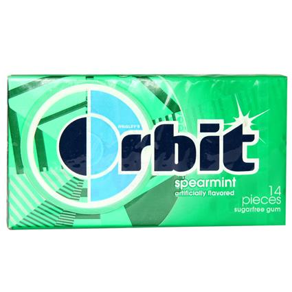 Sugar Free Spearmint Chewing Gum - Orbit