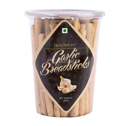 Garlic Bread Stick - Desi Nature